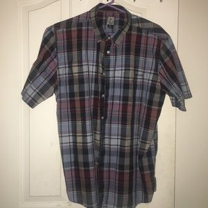 Volcom button down shirt. Size L. Like New